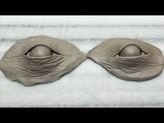 ▶ How-to sculpt eyes using Polymer Clay. The easy way! - YouTube