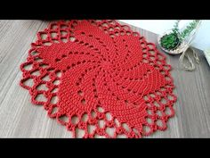 Crochet Baby Toys, Knit Crochet, Crochet Hats, Crochet Placemat Patterns, Crochet Doilies, Crochet Crocodile Stitch, Crochet Videos, Crochet For Beginners, Tatting