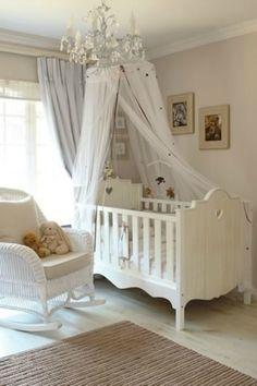 Sheer Crib Canopy