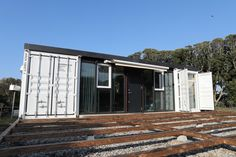 Shipping Container Homes, Shipping Containers, Container Architecture, Container House Plans, Boat, Exterior, Inspire, House Design, Places