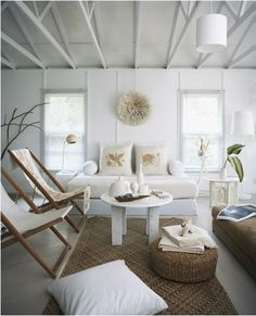 The Beach Home Decor House Interior Design Idea White Mixed With Natural Accents Makes For A Cool Beachy Vibejpg