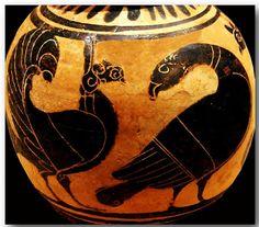 Ancient Greek pottery decoration 188, via Flickr.