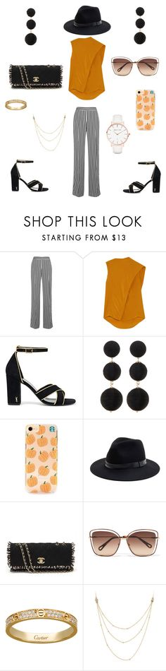 """Married woman"" by qkied ❤ liked on Polyvore featuring Victoria, Victoria Beckham, Victoria Beckham, Yves Saint Laurent, Cara, Sole Society, Chanel, Chloé, David Yurman and Abbott Lyon"