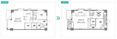 東京 17 坪開放式家庭公寓 - DECOmyplace