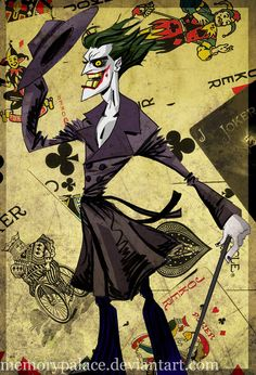 Joker here by *memorypalace on deviantART