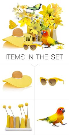 """""""summer"""" by sandevapetq ❤ liked on Polyvore featuring art"""