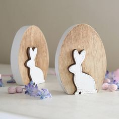 Easter Egg And Rabbit Decoration