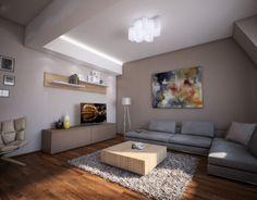 Aleksandar Brankovic on Behance Interior Architecture, Loft, Behance, Architecture Interior Design, Interior Designing, Lofts, Attic Rooms, Attic, Mezzanine