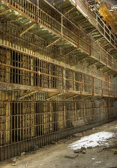 There are times in our lives where we all feel that we are in prison. However ..Truth will set you free, and if free... you will be free indeed