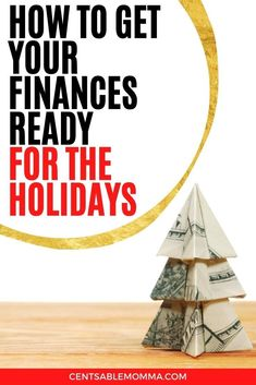 Don't let Christmas completely derail your budget and finances.  Check out these 5 tips for how to get your finances ready for the holidays.  #christmas #christmasbudget #financialplanning Making A Budget, Create A Budget, You Got This, Let It Be, Christmas On A Budget, Part Time Jobs, Make It Through, Pennies, Financial Planning