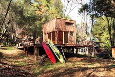 Mason St. Peter, reclaimed wood, Topanga Cabin, Topanga Canyon, reclaimed materials,
