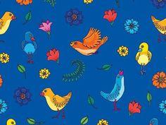 """grafika z katalogu """"Kwiaty i rośliny"""" - Łączka  http://cottonbee.pl/tkaniny/kwiaty-rosliny/5141-laczka.html"""