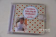 Porta CD para o Dia do Professor  :: flavoli.net - Papelaria Personalizada :: Contato: (21) 98-836-0113 vendas@flavoli.net