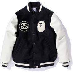 Varsity jacket | BAPE x Stussy New Hip Hop Beats Uploaded EVERY SINGLE DAY  http://www.kidDyno.com