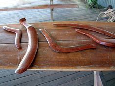 the boomerang another of the first weapons made