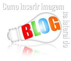 Como inserir imagem centralizada e com link na lateral do blog - * Elaine Gaspareto *