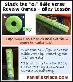 Bible Verse Review Game for Sunday School - Stack the Os Bible Game from www.daniellesplace.com