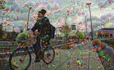 Playing with some deep dream photo stuff. Way cool perfect Psychedelic Sunday.  #bicycle #bike #bici #bicicleta #fahrrad #velo #cyclechic #psychedelic #deepdream #picoftheday #photooftheday #street #trippy #cool #awesome #bestoftheday #urban #weird #fun #great #best #like #love #bikelife #bikeporn #bikestagram by gutterbunnybikes