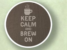 Keep Calm and Brew On.... #Coffee