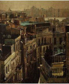 @art_in_turkey KADİR ABLAK  Sanatçı İstanbul'da yaşamın renkliliğinin ara sokaklara, çatılara, duvarlara bıraktığı izleri resimlerine taşımıştır. Bu izler renklerle bütünleşir, renkler ışıkla beslenir ve sanatçının eserlerinde bize yeni bir yüzle görünür.  #art#artist#exhibition#sanat#sanatçı#sergi#galeri#museum#müze#fair#fuar#modernart#contemporaryart#bienal#artinturkey#turkey#worldart#humanity #resim#fotoğraf#photography#picture#tiyatro#sinema#opera#heykel#instasanat #instaart