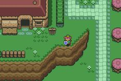 The Legend of Zelda: A Link to the Past, SNES.