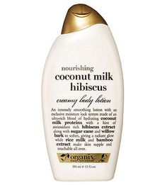 Organix Nourishing Coconut Milk Hibiscus Creamy Body Lotion