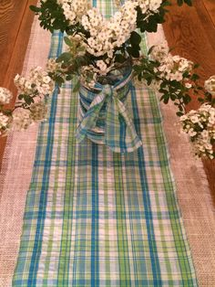 Gingham Check Table Runner At Pottery Barn. I Picked Up One Of These In  Baton Rouge Yesterday. Hope I Donu0027t Regret Getting The Blue One. Red Is U2026
