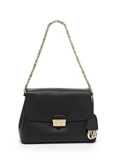 Diorling Medium Satchel Leather satchel  Exterior slip pocket  Side  features hanging Black Handbags b302f92334bab