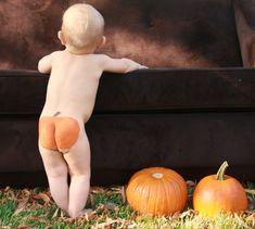 baby pumpkin butt