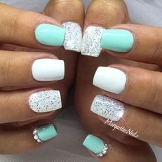 We have compiled a massive set of some of the prettiest nails we could find from across the web. This mega nail collection offers 131 of the Best Nail Art Designs. Have fun browsing through this mega nail collection as you become inspired with this greatness. Enjoy! TRENDING: Mega Nail Collection – 141 Best Nail … #nailart