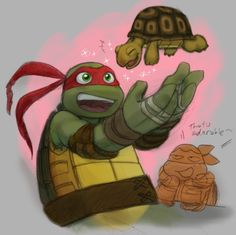 TMNT: By Default by Fuwa2-Kyara.deviantart.com on @deviantART OMG THIS IS PERFECT!!!