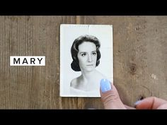 Favorite Video: MARY | heyclaire This video holds a significant place in my heart. My grandmother is demented. On one hand I can count the times I've connected with her. I know of nothing about my Dad's side of the family, and I've made peace with never knowing.