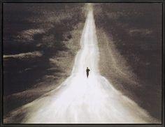 Michal Rovner (Israeli, born 1957). Border #8, 1997–98. The Metropolitan Museum of Art, New York. Purchase, The Horace W. Goldsmith Foundation Gift, through Joyce and Robert Menschel, 1999 (1999.240) © Michal Rovner #Halloween