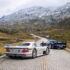 Mercedes & Porsche supercars