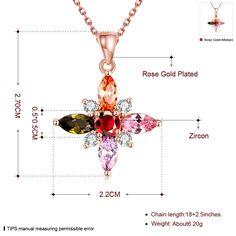 Роскошные розы цвет золотистый цветок кулон ожерелье с AAA фианит Женская модная обувь, украшенная стразами ювелирные изделия свадебный подарок кольекупить в магазине ANGELTEARS speciality StoreнаAliExpress