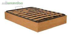 . somos los mas economico en canape madera: MEDIDAS: 90 x 190= 131 e.  //  105 x 190 = 138 e.  //  135 x 190 = por solo 156 e.   //  150 x  190 = 169 e. .  Lotes de colchones para casa de alquile.  Cabeceros de forja y gran surtido en muebles en crudo y bar