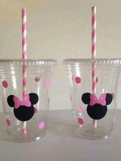 Vasos decorados inspirados en Mimi