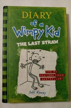 Diary of a Whimpy: Kid The Last Straw (Hardcover) by Jeff Kinney - http://books.goshoppins.com/childrens-books/diary-of-a-whimpy-kid-the-last-straw-hardcover-by-jeff-kinney/