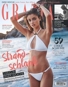 Taylor Hill for Grazia Germany August 2016 Cover