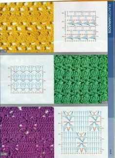 Crochet stitches #crochetstitches