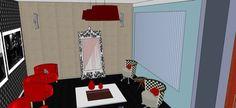 Projeto Maristela F. Sigolini - Sala de espera - Salão de Beleza