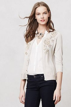 Navona Cardigan #anthropologieEU