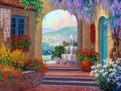 oil paintings garden - Google'da Ara