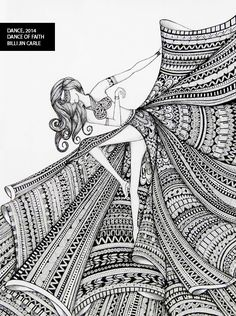Doodle art Woman Knitwear and Sweaters womans cardigan sweaters Doodle Art Drawing, Cool Art Drawings, Zentangle Drawings, Mandala Drawing, Pencil Art Drawings, Art Drawings Sketches, Zentangle Patterns, Mandala Doodle, Nature Drawing