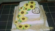 Amy's Crazy Cakes - Rustic Sunflower Cake