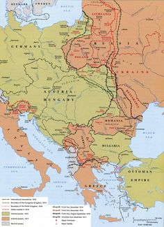 Europe before and after the great war of 1914 1918 maps outline map of the world 1914 blank map of world war 1 gumiabroncs Image collections