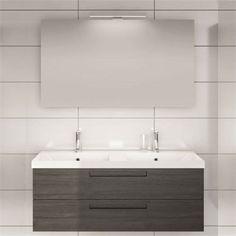 8253 kr. 600 mm + spegel. Noro badrumsmöbler Relounge i modern ...