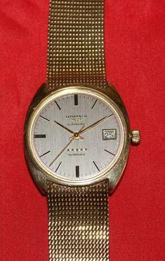 Vintage Longines Admiral Automatik 5 Sterne Herrenuhr  9k / 375 Gelbgold Quality Watches, Gold Watch, Ebay, Stuff To Buy, Accessories, Vintage, Automatic Watch, Bracelet Watch, Vintage Comics