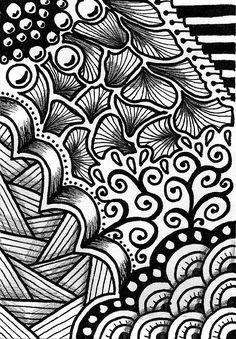 Creative Crafting: How To Zen Doodle