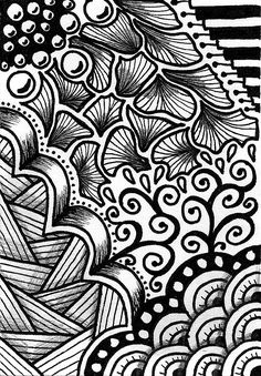 doodle zen zentangle doodles creative patterns crafting doodling zendoodle easy drawing designs simple letters drawings form draw google really zentangles